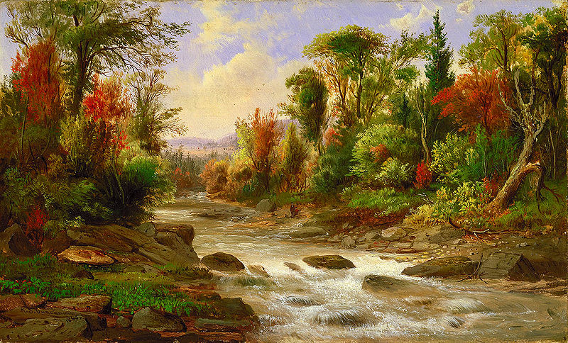 Paintings Of Rivers 21 on oscar salas honduras